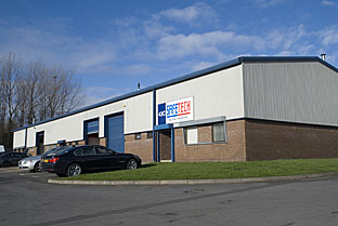 Safetech's new premises at 43c Carrmere Road, Sunderland