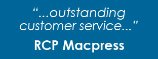 Testimonial from RCP Macpress