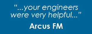 Testimonial from Arcus FM